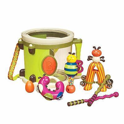 B Parum Pum Pum Toy Drum Set Musical Toys Bug Instruments NEW](Drums Toy)