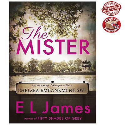 The Mister E L James Paperback Book Romance Erotic Love NEW 16 April 2019