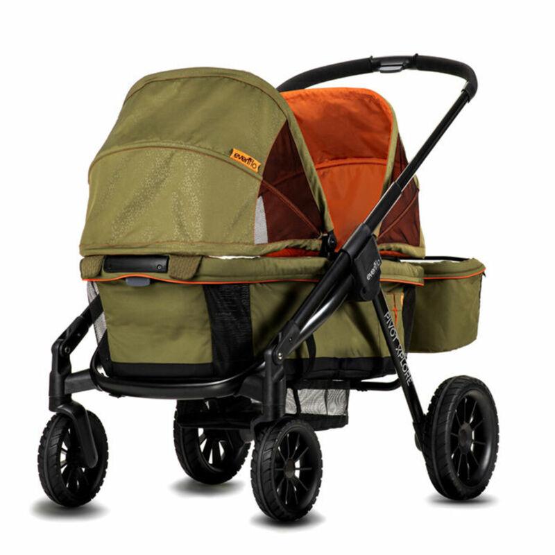 Evenflo 19132264 Pivot Xplore All Terrain Modular Toddler Stroller Wagon, Gypsy