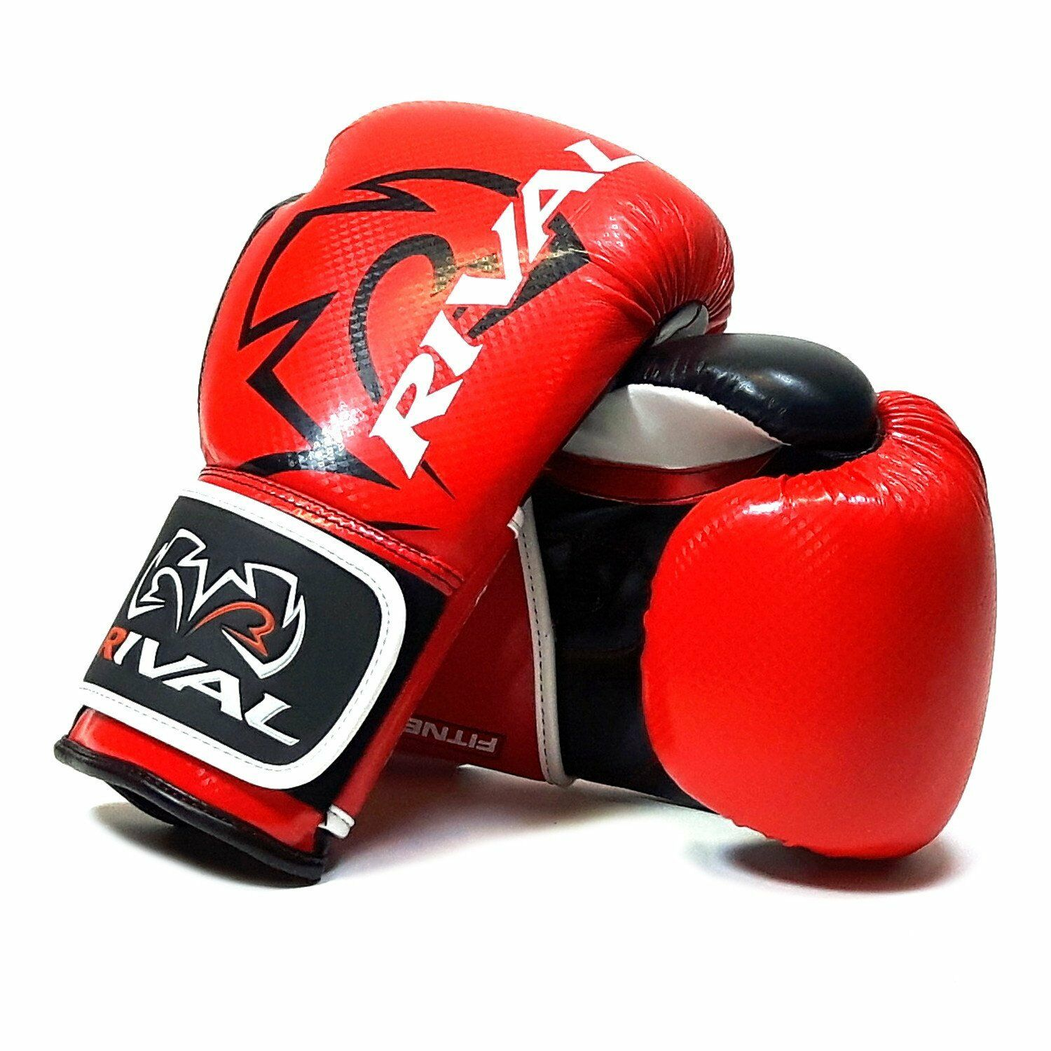 Rival RB7 Fitness Bag Training Gloves Boxing White Blue Red Elite bag Mitts Pads