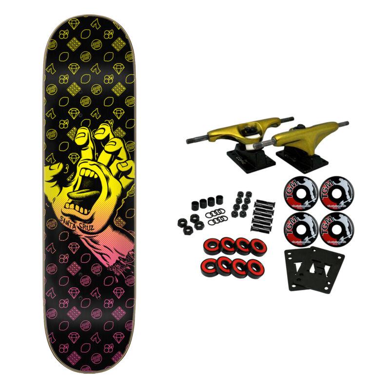 "Santa Cruz Skateboard Complete Jackpot Hand Team 8.0"" x 31.6"""