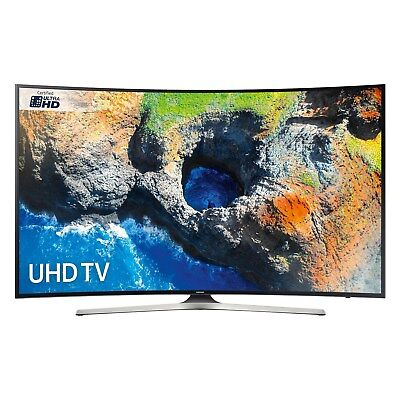 Samsung UE55MU6220  Black - 55inch 4K Ultra HD Curved TV in Black Wi-Fi