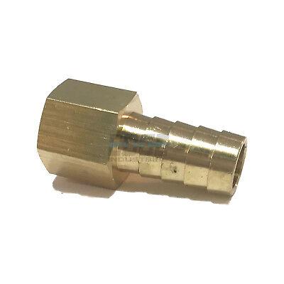 12 Hose Barb X 38 Female Npt Brass Pipe Fitting Npt Thread Gas Fuel Water Air