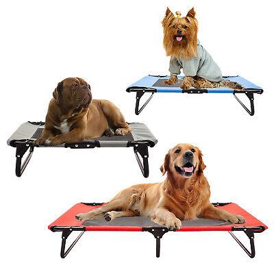 Pet Sleeper - Pet Elevated Cot Dog Bed Hammock Indoor Outdoor Camp Lounger Sleeper Steel Frame