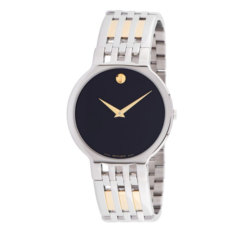 Movado 0606962 Men Esperanza Black Quartz Watch