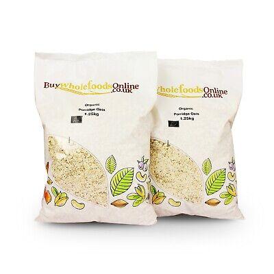 Organic Porridge Oats 2.5kg   Buy Whole Foods Online   Free UK Mainland P&P