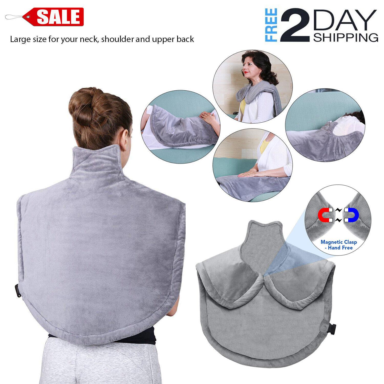 MARNUR Heating Pad Wrap for Neck Shoulder Back Adbominal Han