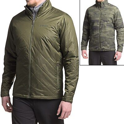 New Men`s Columbia Half Life Omni-Heat Reversible Insulated Jacket MSRP$150 Columbia Half Life