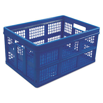 Universal Filingstorage Tote Storage Box Plastic 20-18 X 14-58 X 10-34 Blue