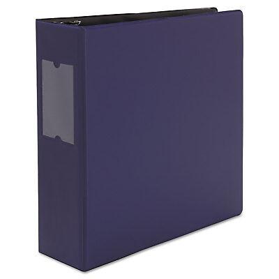 Universal D-ring Binder 3 Capacity 8-12 X 11 Navy Blue 20798