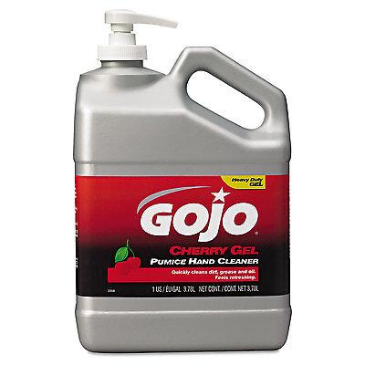 Gojo Cherry Gel Pumice Hand Cleaner Cherry 1gal 235802EA