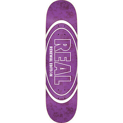 "Real Skateboards Floral Renewal II Skateboard Deck - 8.25"" x 32"""