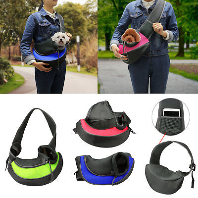 - Pet Puppy Dog Cat Carrier Comfort Travel Tote Shoulder Bag Sling Backpack