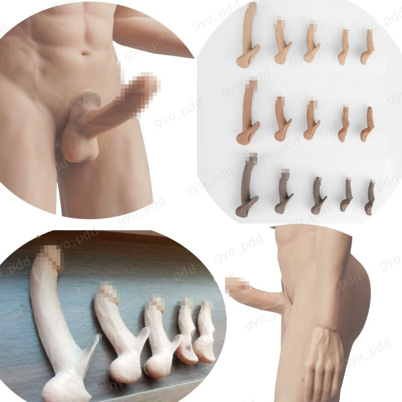 "1/6 Male Genitals Organ SUPER LARGE Penis for 12"" Phicen M30 M31 M32 Figure Body"