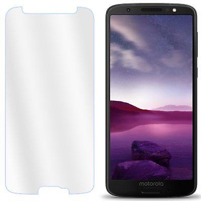 UK 100% Genuine Tempered Glass Screen Protector Film For Motorola Moto G6 Play