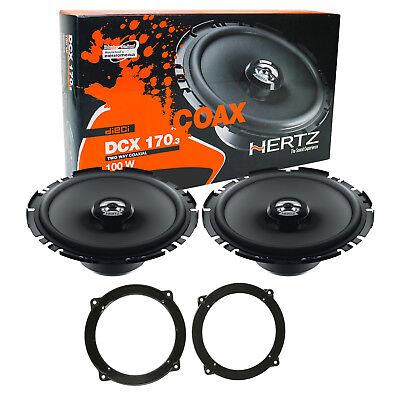 Hertz DCX 170.3 Kit Completo Casse Altoparlanti Posteriori Audi A3 Dal 2003>