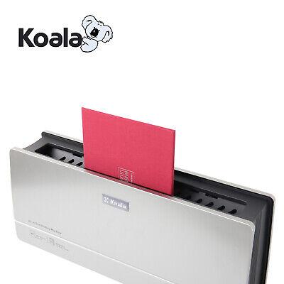 Koala 110v Electronic Binding Machine A4 8.5x11 Hot Melt Office Document Binder