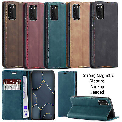 For Samsung Galaxy S20 S20+ S10 Lite A51 Case Luxury Leather Wallet Flip Cover