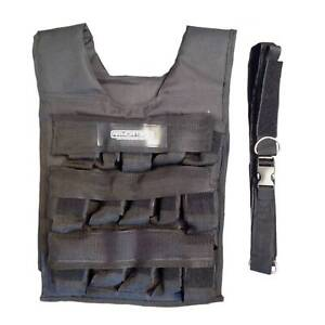 WEIGHT VEST with IRON INSERTS (10, 20, 30kg Sizes Available)