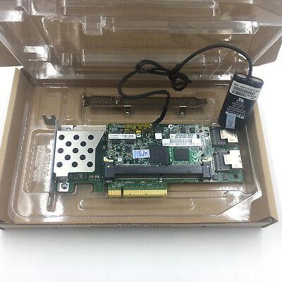 HP Smart Array P410//512MB FBWC Raid Controller PCIe RAID 462864-B21 462975-001