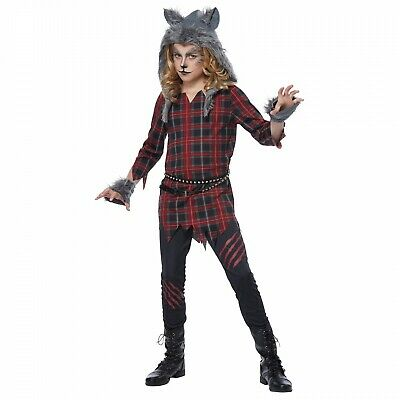 NEW Totally Ghoul She-Wolf Girl Halloween Dress Up Costume Sz: Medium ()
