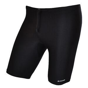 Vulkan Mens Compression Sports Skins Armour Base Layer Cycling Shorts - Medium