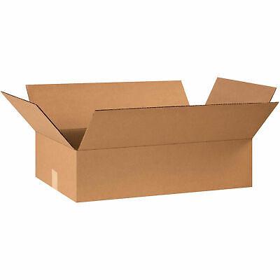 24 X 14 X 6 Flat Cardboard Corrugated Boxes 65 Lbs Capacity 200ect-32