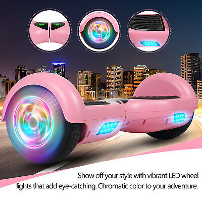 "6.5"" Hoverboard Self Balancing LED Electric Scooter Hover Bo"
