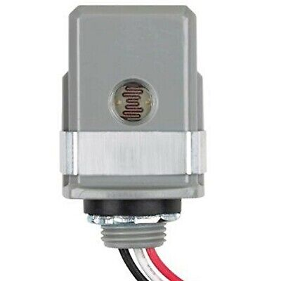 Stem Mount LED Photo Control 120-277V Dusk to Dawn Photo Sensor, Photocell fo...