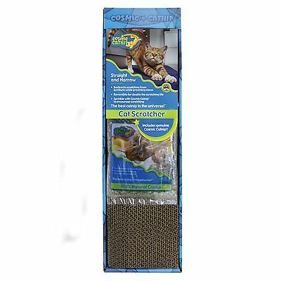 Catnip Single (OurPets Cosmic Catnip Straight and Narrow Single Wide Reversible Cat)