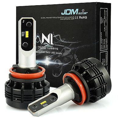 JDM ASTAR N1 7600LM H11 LED Headlight Low Beam Bulbs Xenon White Fog Light DRL