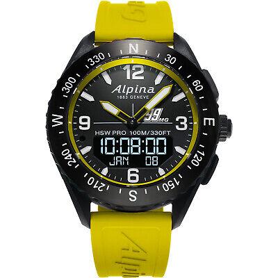 Alpina AlpinerX Men's Quartz Caliber 45mm Horological Smart Watch AL-283MGY5AQ6