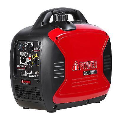 Ultra-quiet 1600 2000 Watt Portable Inverter Generator - Parallel Capable