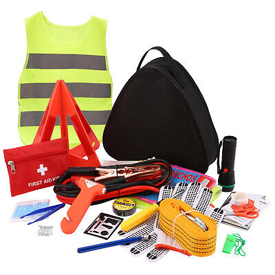 Multipurpose Roadside Assistance Car Emergency Kit Auto Safety Tools 104-PACKS