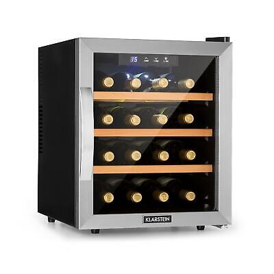 Wine cooler fridge refrigerator  Beer mini bar 16 bottles counter top - Silver
