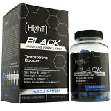 High T Black - Testosterone Booster - Pre Workout Hardcore Muscle Formulation