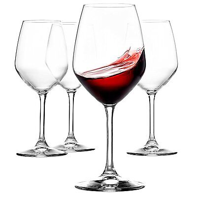 Bormioli Rocco Restaurant Red Wine Glass, Set of 4 [Kitchen]
