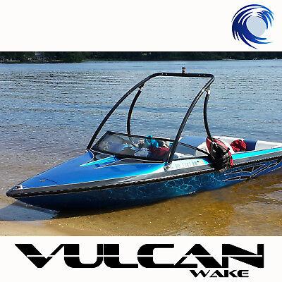 "Wakeboard Tower - BLACK - 2.25"" tubing Vulcan Boost - from WAKE ESSENTIALS"