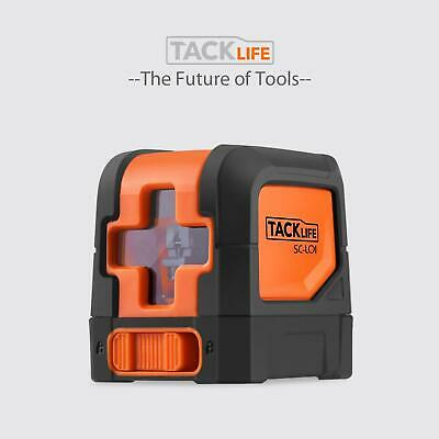 Tacklife Sc-l01-50 Feet Laser Level Self-leveling Horizontal And Vertical Cross-