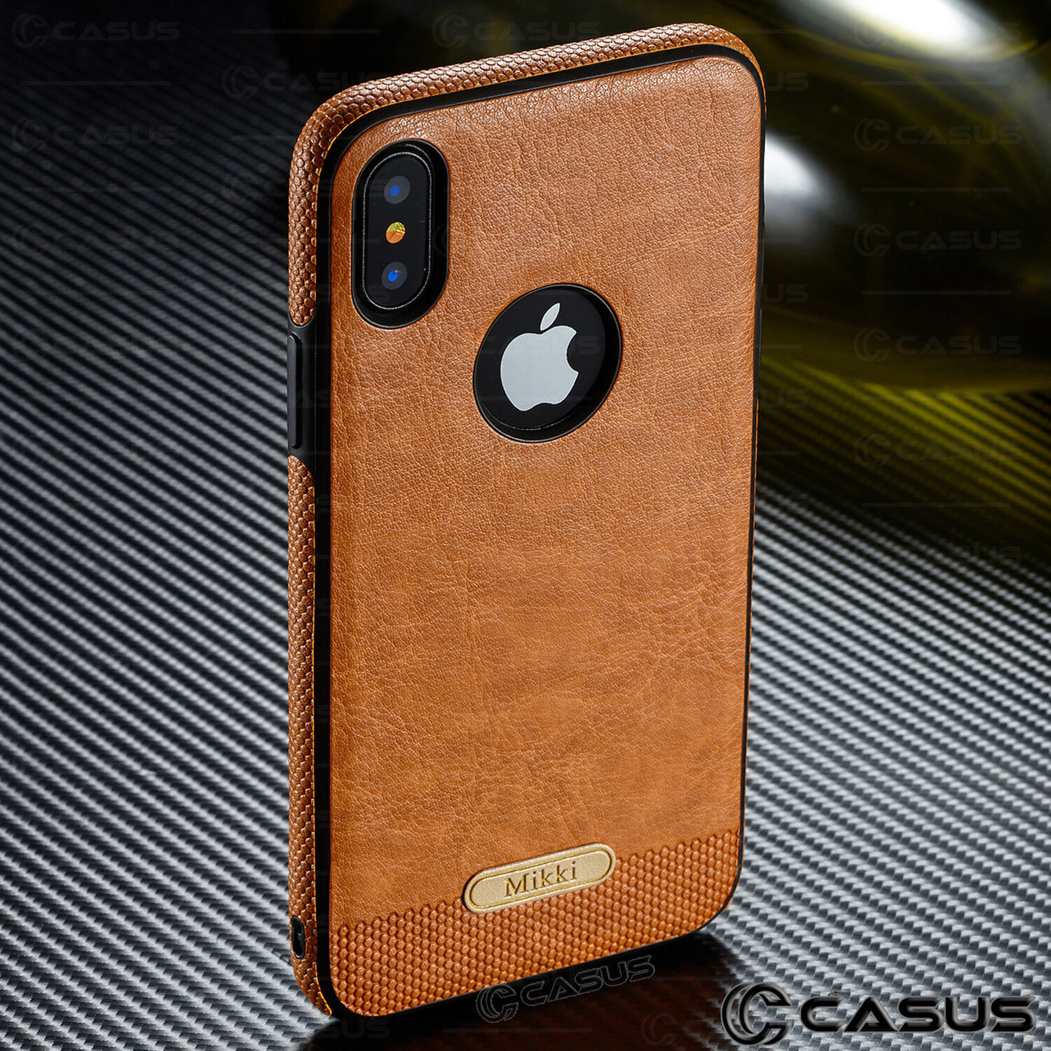 SLIM Luxury Leather Back Ultra Thin TPU Case Cover for iPhone X  876s Plus