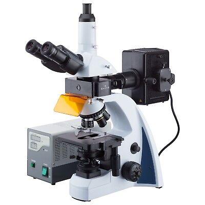40x-1000x Infinity-corrected Fluorescence Microscope With Led Koehler Illuminati
