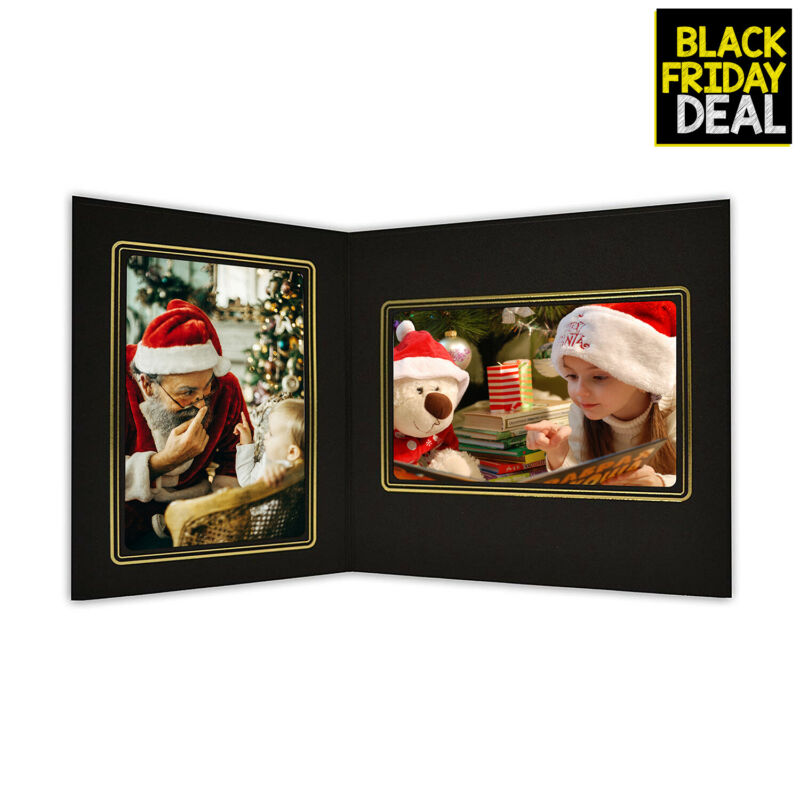 Golden State Art Cardboard Photo Folder for 4x6 and 6x4 Photo (Pack of 50) PF...
