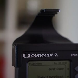 LiveRowing Concept 2 Rowing Machine Smartphone Holder – FREE Fitness App