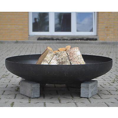 Köhko Feuerschale 80 cm Klöpperboden Pflanzschale