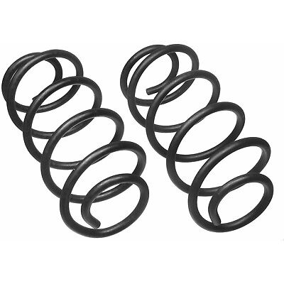 (For Jeep Liberty 2002-2007 Rear Constant Rate 195 Coil Spring Set Moog # 81057)