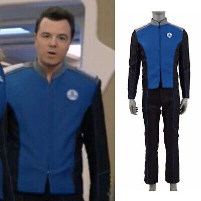 The Orville Ed Mercer Cosplay Kostüm Captain Outfit Uniform Karneval Party Captain Outfit