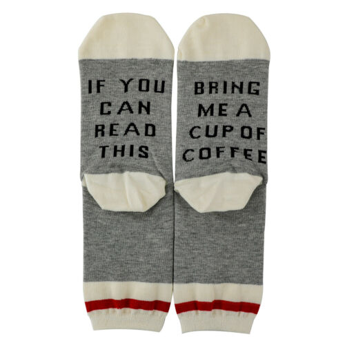 Unisex Funny Socks If You Can Read This Bring Me A Wine Beer Socks Combed Cotton Clothing, Shoes & Accessories