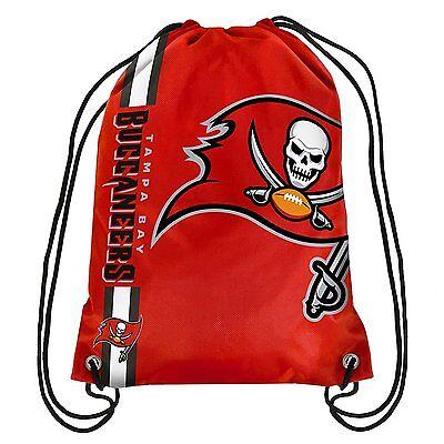 Tampa Bay Buccaneers Nfl Drawstring Backpack   Sackpack   New
