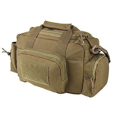 NcStar TAN Small Range Deployment Bag MOLLE Modular Shoulder Carrying Pack