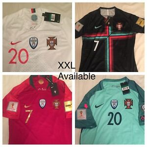 Portugal World Cup jerseys